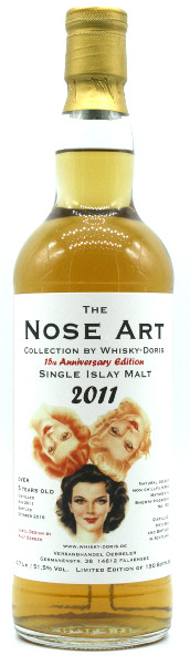 Single Islay Malt 2011 Nose Art by Whisky-Doris