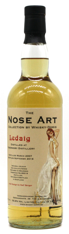 Ledaig 2007 Nose Art Collection by Whisky-Doris