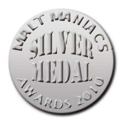 Malt Maniacs Awards 2010 Silver Medal Winner